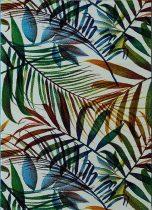 Színes leveles krém szőnyeg 120x170
