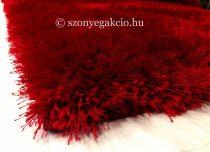 3D Shaggy bordó-piros szőnyeg 120x170 cm
