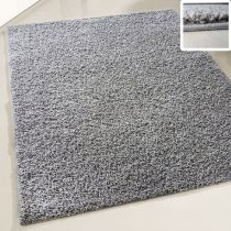 My shaggy 380 középszürke színű kerek szőnyeg 200 cm átmérővel
