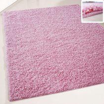 My shaggy 380 rózsaszín színű kerek szőnyeg 200 cm átmérővel