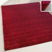 My shaggy 380 vörös színű kerek szőnyeg 120 cm átmérővel