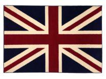 70.1204 Londonos Navy szőnyeg  80x150 cm - A KÉSZLET EREJÉIG!