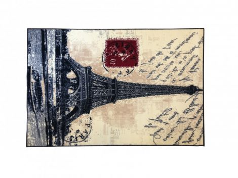 70.1755 Paris postcard szőnyeg  80x150 cm - A KÉSZLET EREJÉIG!