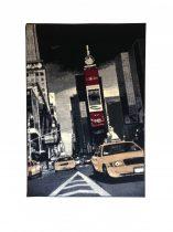 70.1761 New york black/red szőnyeg 120x170 cm - A KÉSZLET EREJÉIG!