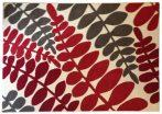 70.2730 Leveles ivory/red szőnyeg  80x150 cm - A KÉSZLET EREJÉIG!