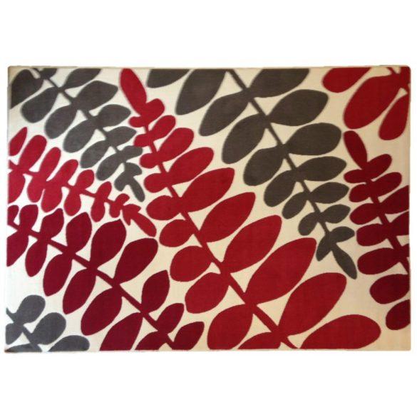 70.2730 Leveles ivory/red szőnyeg 160x225 cm - A KÉSZLET EREJÉIG!