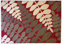 70.2730 Leveles red szőnyeg  80x150 cm - A KÉSZLET EREJÉIG!