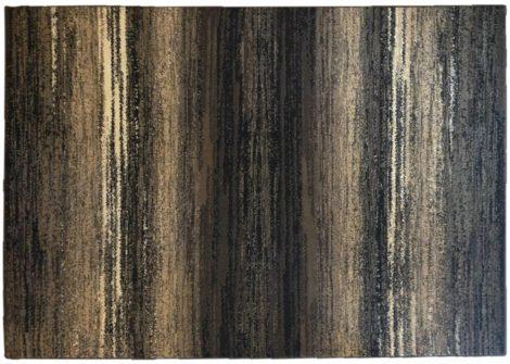 70.2881 Vonalas foltos cacao szőnyeg  80x150 cm - A KÉSZLET EREJÉIG!
