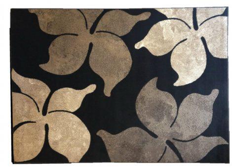 70.2914 Virágos cacao szőnyeg 120x170 cm - A KÉSZLET EREJÉIG!