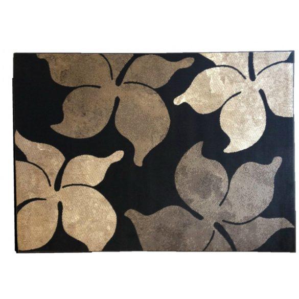 70.2914 Virágos cacao szőnyeg  80x150 cm - A KÉSZLET EREJÉIG!