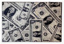 70.2990 Dolláros Grey szőnyeg  80x150