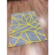 Barcelona E738 sárga geometriai mintás szőnyeg  120x170 cm