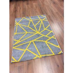 Barcelona E738 sárga geometriai mintás szőnyeg  200x280 cm
