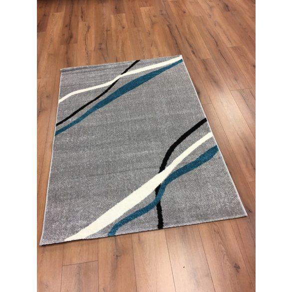 Barcelona E741 szürke-kék szőnyeg  80x150 cm