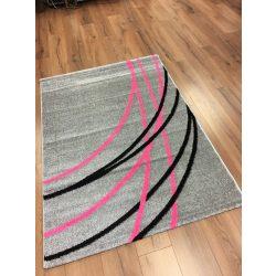 Barcelona E742 szürke-rózsaszín szőnyeg 160x230 cm