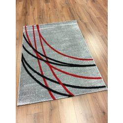 Barcelona E742 szürke-piros szőnyeg 160x230 cm