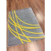 Barcelona E742 szürke-sárga szőnyeg 160x230 cm