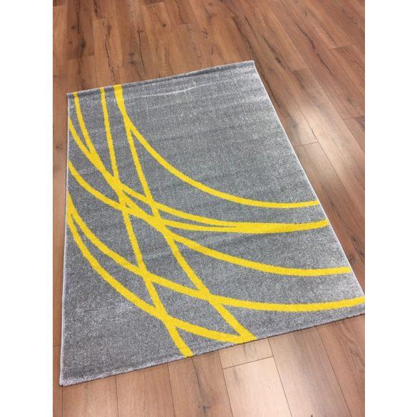 Barcelona E742 szürke-sárga szőnyeg  80x150 cm