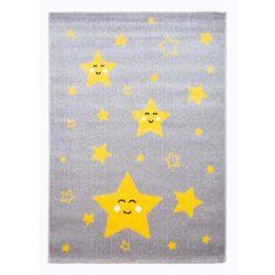 Superkids H689A Csillag mintás gyerekszőnyeg 160x230 cm