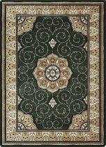 Adora 5792 Y Classic zöld szőnyeg 280x370 cm