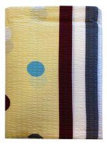 Ágynemű huzat 3 részes sárga-kék