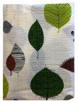 Ágynemű huzat 3 részes zöld leveles