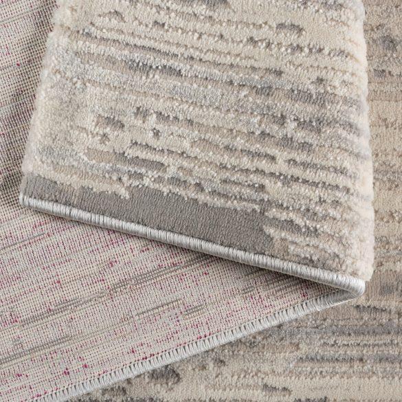 Amatis 6610 szürke modern mintás szőnyeg  80x150 cm
