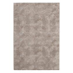 Amatis 6620 bézs modern mintás szőnyeg  80x150 cm