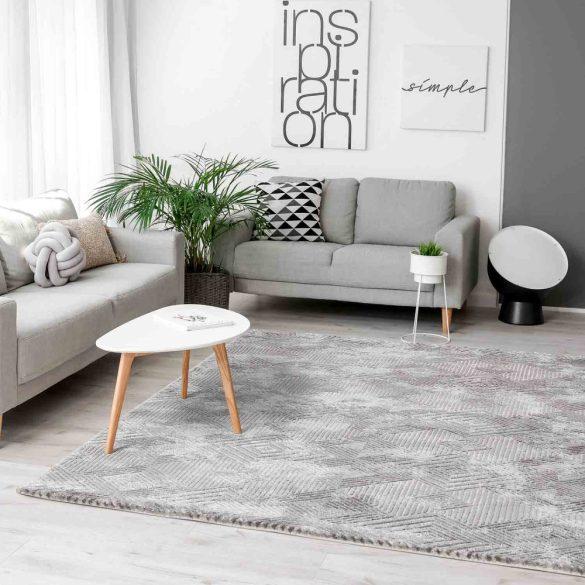 Amatis 6620 szürke modern mintás szőnyeg 160x230 cm