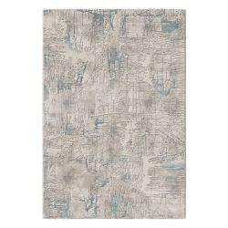 Amatis 6630 kék modern mintás szőnyeg  80x150 cm