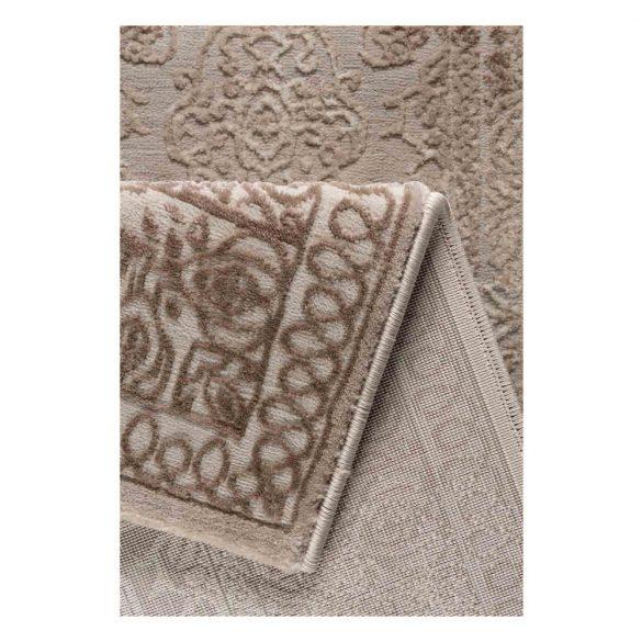Amatis 6640 bézs modern mintás szőnyeg  80x150 cm