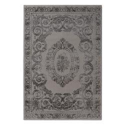 Amatis 6650 szürke klasszikus mintás szőnyeg  80x150 cm
