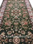 Anatolia 5378 Classic zöld futószőnyeg  70 cm széles 1,65 m hosszú