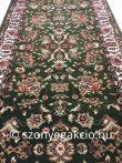 Anatolia 5378 Classic zöld futószőnyeg  70 cm széles 1,8 m hosszú