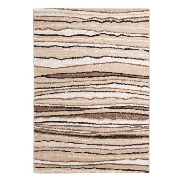 Madrid B084A_FMA33 bézs modern mintás szőnyeg  80x150 cm