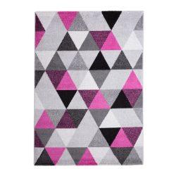Barcelona B430A_FMF61 lila-szürke geometria mintás szőnyeg 160x230 cm