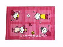 SH Bambino 2107 pink színű gyerekszőnyeg 120x170 cm