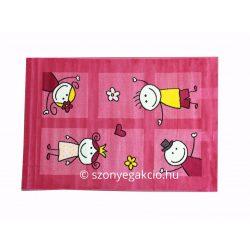 SH Bambino 2107 pink színű gyerekszőnyeg 160x230 cm