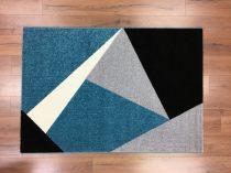 Barcelona 198 kék geometriai mintás szőnyeg 160x230 cm