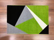 Barcelona 198 zöld geometriai mintás szőnyeg 160x230 cm