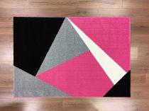 Barcelona 198 pink geometriai mintás szőnyeg 160x230 cm
