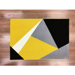 Barcelona 198 sárga geometriai mintás szőnyeg  80x150 cm