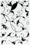 Black&White fehér szőnyeg  80x150 cm
