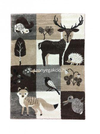 Broadway Kids Forest - Erdő állatai gyerekszőnyeg 160x230 cm - A KÉSZLET EREJÉIG