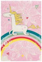 Broadway kids unicorn - egyszarvú mintás gyerekszőnyeg 120x170 cm - UTOLSÓ DB