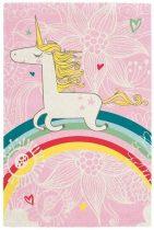 Broadway kids unicorn - egyszarvú mintás gyerekszőnyeg 160x220 cm  - A KÉSZLET E