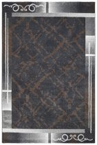 Bronx 540 anthracite szőnyeg 120x170 cm