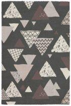 Bronx 542 anthracite szőnyeg  80x150 cm