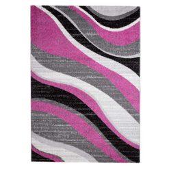 Barcelona C191B_FMF11 lila modern mintás szőnyeg  80x150 cm