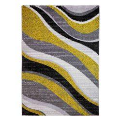 Barcelona C191B_FMF88 sárga modern mintás szőnyeg  80x150 cm